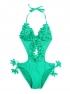 Jednodielne plavky monokiny RELLECIGA so strapcami RA155021-800