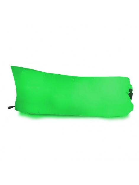 Nafukovací sedací vak - green