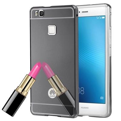 Zrkadlový kryt pre Huawei P9 Lite - Black