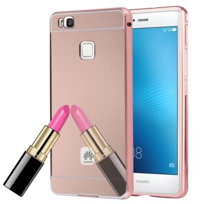 Zrkadlový kryt pre Huawei P9 Lite -Rose Gold