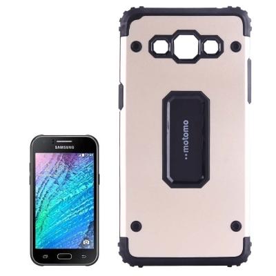 Odolný ochranný kryt pre Samsung Galaxy J3 2016 - Gold