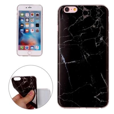 Flexi kryt s motívom čierneho mramoru pre iPhone 6 Plus / 6S Plus