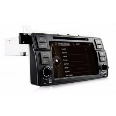 BMW E 46 Autorádio Multimediálne s DVD USB a GPS Navigáciou – OS WIN CE 6
