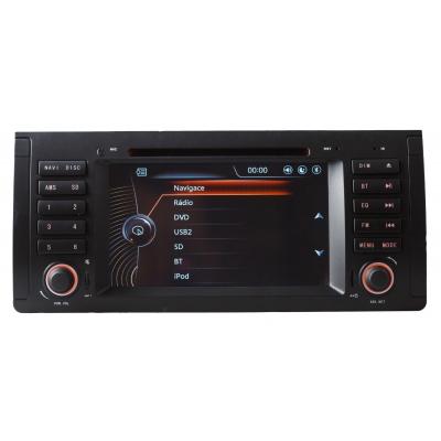 BMW E 39 Autorádio Multimediálne s DVD USB a GPS Navigáciou – OS WIN CE 6