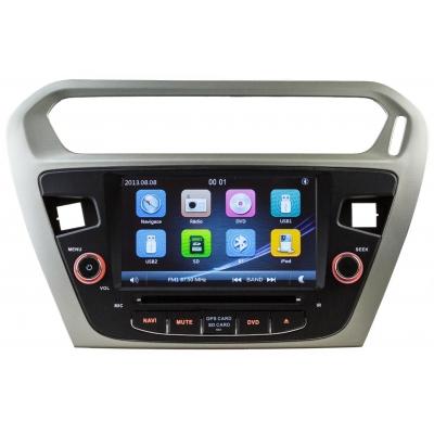 CITROEN C-Elysse Autorádio Multimediálne s DVD USB a GPS Navigáciou – OS WIN CE 6