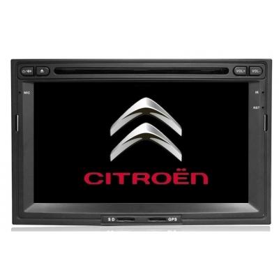 Citroen Berlingo Autorádio Multimediálne s DVD USB a GPS Navigáciou – OS WIN CE 6