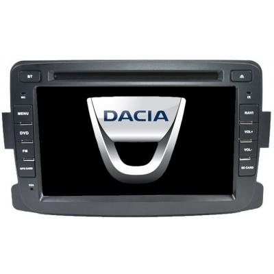 DACIA Autorádio Multimediálne s DVD USB a GPS Navigáciou – OS WIN CE 6