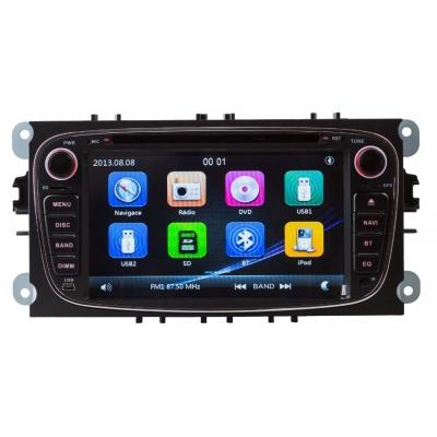FORD Autorádio Multimediálne s DVD USB a GPS Navigáciou – OS WIN CE 6