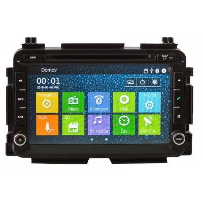 HONDA HR-V Autorádio Multimediálne s DVD USB a GPS Navigáciou – OS WIN CE 6