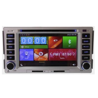 Hyundai Santa Fe Autorádio Multimediálne s DVD USB a GPS Navigáciou – OS WIN CE 6