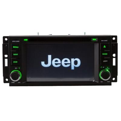JEEP Autorádio Multimediálne s DVD USB a GPS Navigáciou – OS WIN CE 6