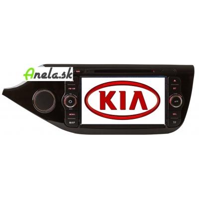 KIA Cee´d Autorádio Multimediálne s DVD USB a GPS Navigáciou – OS WIN CE 6