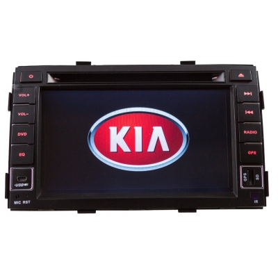 KIA SORENTO Autorádio Multimediálne s DVD USB a GPS Navigáciou – OS WIN CE 6