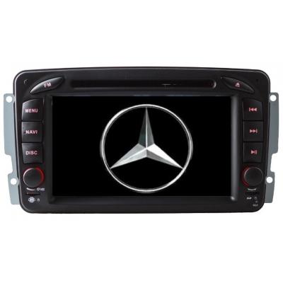 Mercedes BENZ Autorádio Multimediálne s DVD USB a GPS Navigáciou – OS WIN CE 6