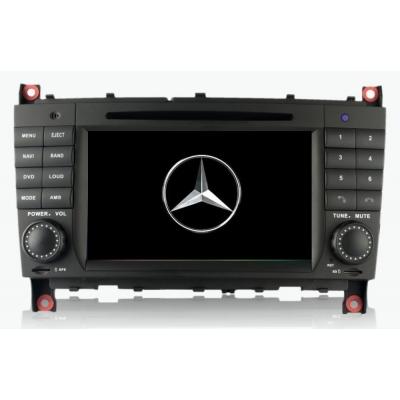 Mercedes BENZ CLK Autorádio Multimediálne s DVD USB a GPS Navigáciou – OS WIN CE 6