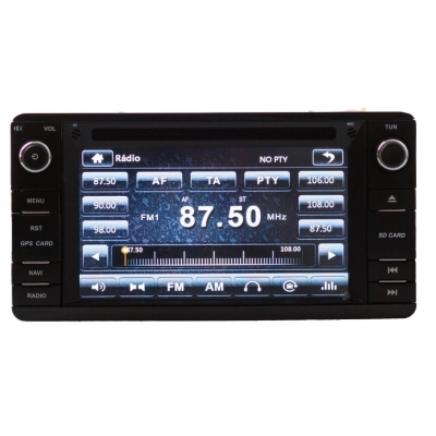 Mitsubishi LANCER, OUTLANDER, ASX Multimediálne Autorádio s DVD USB a GPS Navigáciou – OS WIN CE 6