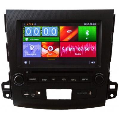 Mitsubishi Autorádio OUTLANDER Multimediálne s DVD USB a GPS Navigáciou – OS WIN