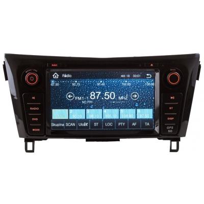 NISSAN Autorádio QASHKAI / X Trail  Multimediálne s DVD USB a GPS Navigáciou – OS WIN CE 6