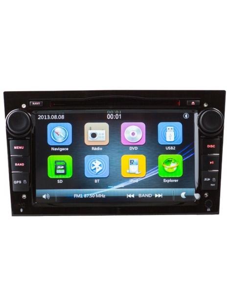 OPEL Autorádio Multimediálne s DVD USB a GPS Navigáciou – OS WIN CE 6