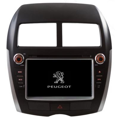 PEUGEOT 4008 Autorádio Multimediálne s DVD USB a GPS Navigáciou – OS WIN CE 6