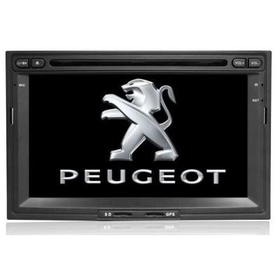 Peugeot Autorádio 3008/5008/Partner  Multimediálne s DVD USB a GPS Navigáciou – OS WIN  CE 6