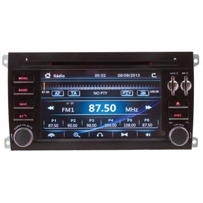 PORCHE Cayenne Autorádio Multimediálne s DVD USB a GPS Navigáciou – OS WIN CE 6