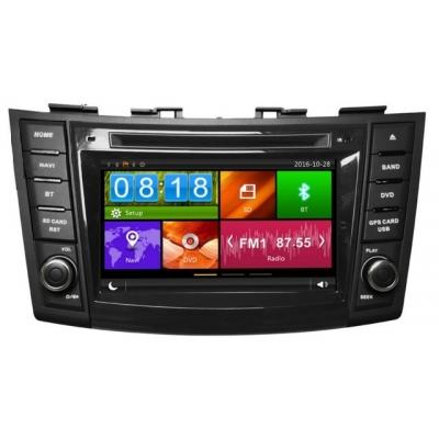 SUZUKI SWIFT Autorádio Multimediálne s DVD USB a GPS Navigáciou – OS WIN CE 6