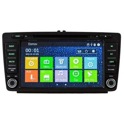 Škoda OCTAVIA / YETI  Multimediálne Autorádio s DVD USB a GPS Navigáciou – OS WIN CE 6