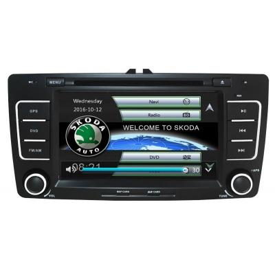 Škoda Autorádio OCTAVIA / YETI  Multimediálne s DVD USB a GPS Navigáciou – OS WIN CE 6