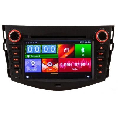 TOYOTA RAV 4 Autorádio Multimediálne s DVD USB a GPS Navigáciou – OS WIN CE 6
