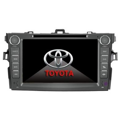 TOYOTA Corolla Autorádio Multimediálne s DVD USB a GPS Navigáciou – OS WIN CE 6