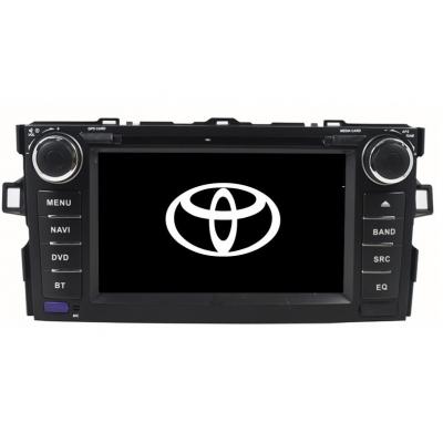 TOYOTA AURIS Autorádio Multimediálne s DVD USB a GPS Navigáciou – OS WIN CE 6