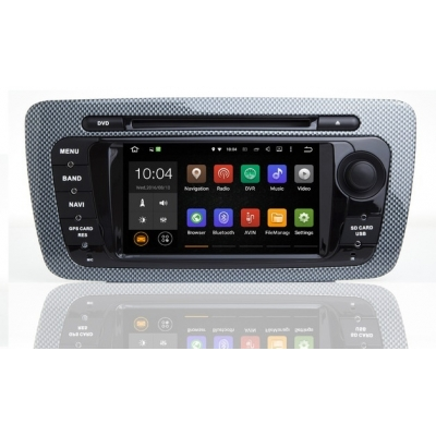 SEAT IBIZA Autorádio Android s DVD USB a GPS Navigáciou – OS ANDROID 7.1.1