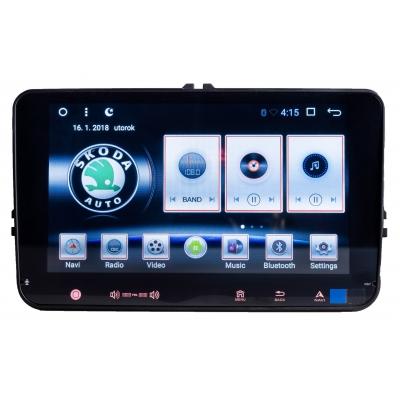 ŠKODA Autorádio ANDROID 8 palcové s USB a GPS Navigáciou – OS ANDROID 6.0.1