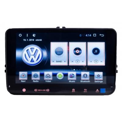 VW Volkswagen Autorádio 8 palcové s USB a GPS Navigáciou – OS ANDROID 6.0.1
