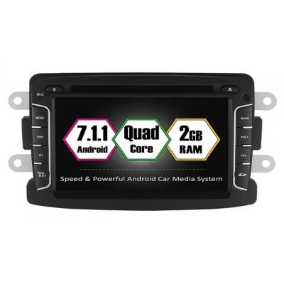 DACIA Autorádio Android DVD USB a GPS Navigáciou – OS ANDROID 7.1