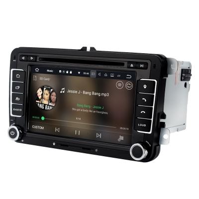 SEAT Autorádio Android 7 palcové DVD USB GPS Navigáciou-OS ANDROID 7.1