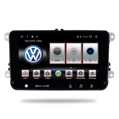 VW Autorádio Android 8 palcové s WiFi USB GPS Navigáciou-OS ANDROID 7.1