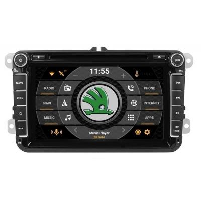ŠKODA Autorádio Android 8 palcové DVD USB GPS Navigáciou-OS ANDROID 7.1