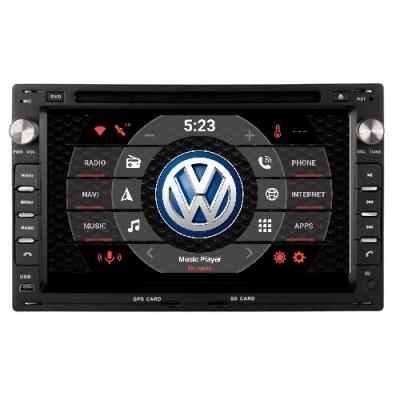 VW Volkswagen Autorádio Android DVD USB a GPS Navigáciou – OS ANDROID 7.1
