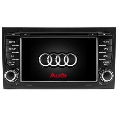 AUDI A 4 Autorádio 7 palcové  Multimediálne s DVD USB a GPS Navigáciou – OS WIN CE 6