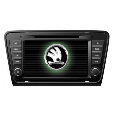 Škoda OCTAVIA 3.gen  Multimediálne Autorádio s DVD USB a GPS Navigáciou – OS WIN CE 6