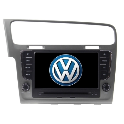 Volkswagen GOLF 7 Autorádio Multimediálne 8 palcové  s DVD USB a GPS Navigáciou – OS WIN CE 6
