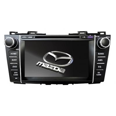 MAZDA 5 Autorádio Multimediálne s DVD USB a GPS Navigáciou – OS WIN CE 6