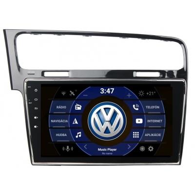 Volkswagen GOLF VII. Autorádio Android Multimediálne s USB a GPS Navigáciou – OS ANDROID 7.1.1