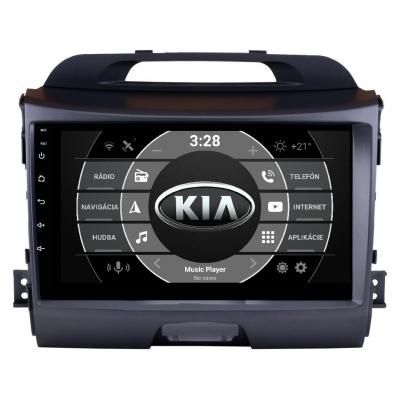 KIA Sportage Autorádio Multimediálne CAR PAD s USB a GPS Navigáciou – OS ANDROID 6.0