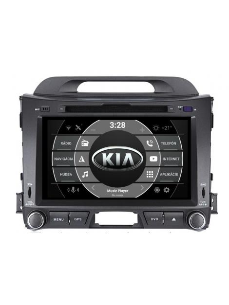 KIA Sportage Autorádio Multimediálne s DVD USB a GPS Navigáciou – OS ANDROID 8.0