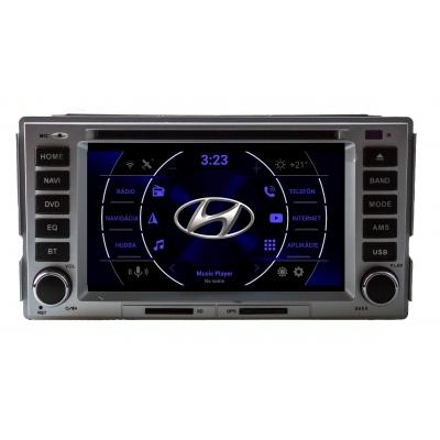 Hyundai Santa Fe Autorádio ANDROID 2din sWiFi DVD USB a GPS Navigáciou – ANDROID 8.1