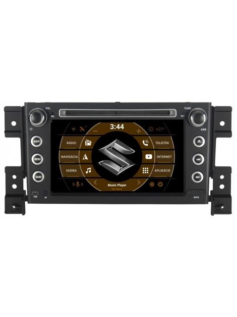 SUZUKI Autorádio GRAND VITARA  Multimediálne DVD s USB a GPS Navigáciou – OS ANDROID 7.1.1