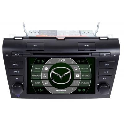 Mazda 3 Autorádio Android DVD USB a GPS Navigáciou – OS ANDROID 7.1